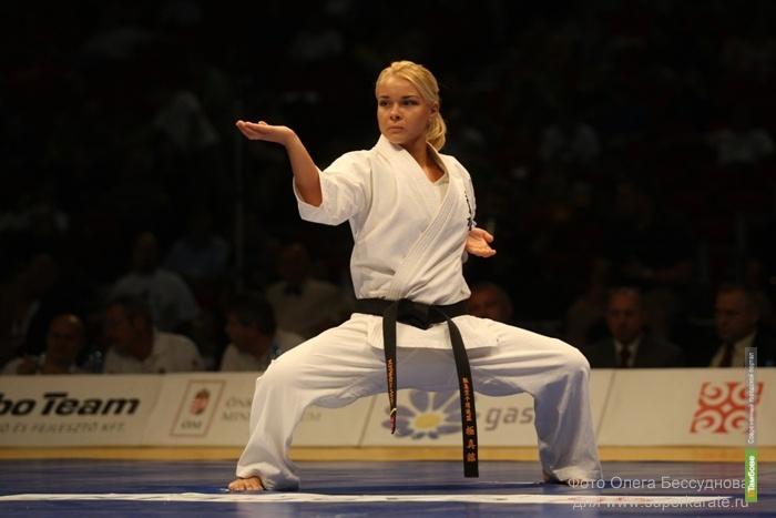 Тамбовская каратистка стала «Заслуженным мастером спорта»