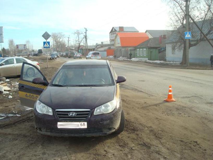 В Моршанске таксист сбил пятиклассника