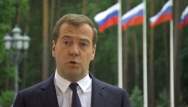 Медведев в своем видеоблоге начнет подводить итоги недели