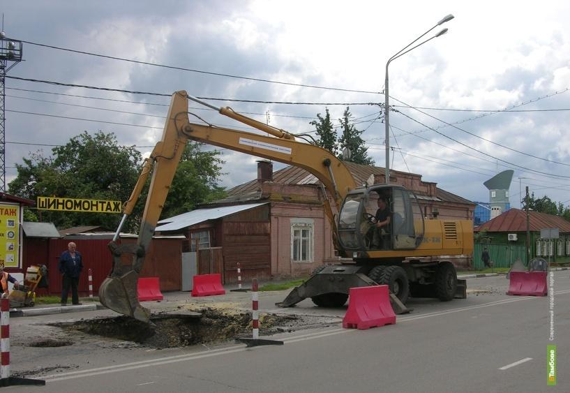 За полгода Тамбовводоканал потратил почти 4 миллиона рублей на ремонтные работы