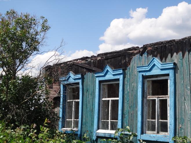 В Рассказовском районе в огне погиб человек