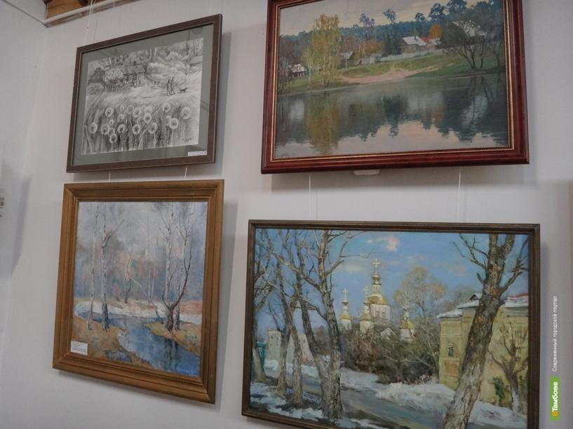 Тамбовские художники выставили на показ свои шедевры