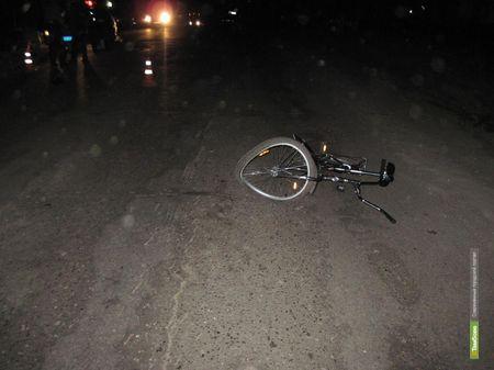 Тамбовский скутерист сбил человека на велосипеде