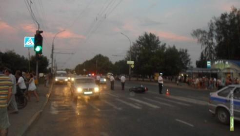 В Тамбове пьяный десантник сбил беременную женщину с ребёнком