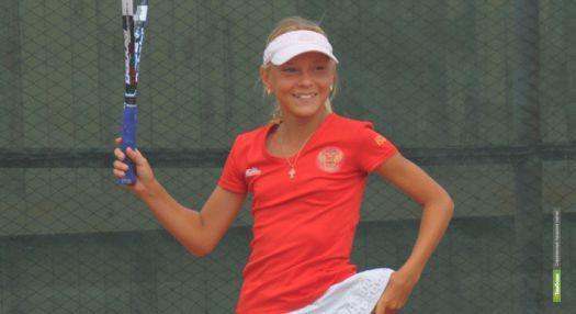 Юная теннисистка из Тамбова взяла «золото»