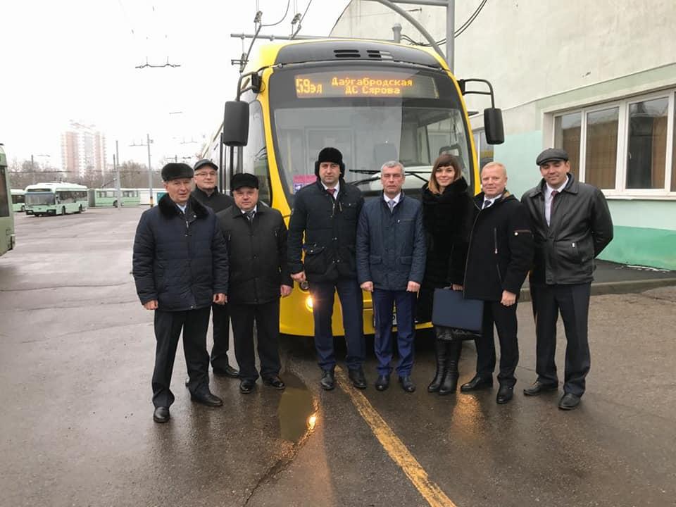 ВТамбов «напробу» привезут белорусский электробус