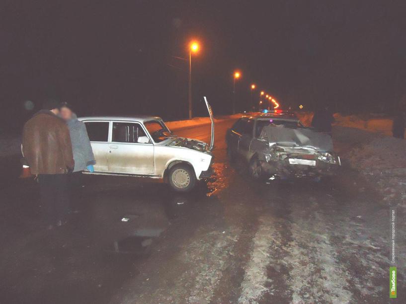 В Тамбовской области неизвестный устроил ДТП и скрылся