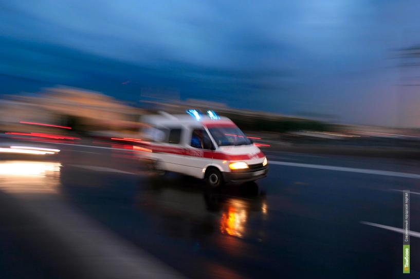 В Тамбове из-за столкновения с легковым автомобилем погиб скутерист