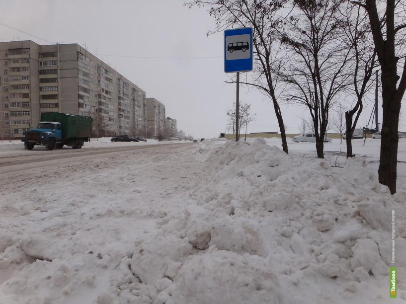 Из-за заваленного снегом тротуара пострадали два тамбовчанина