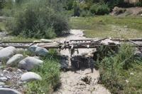 В Киргизии эвакуируют туристов из-за угрозы наводнения
