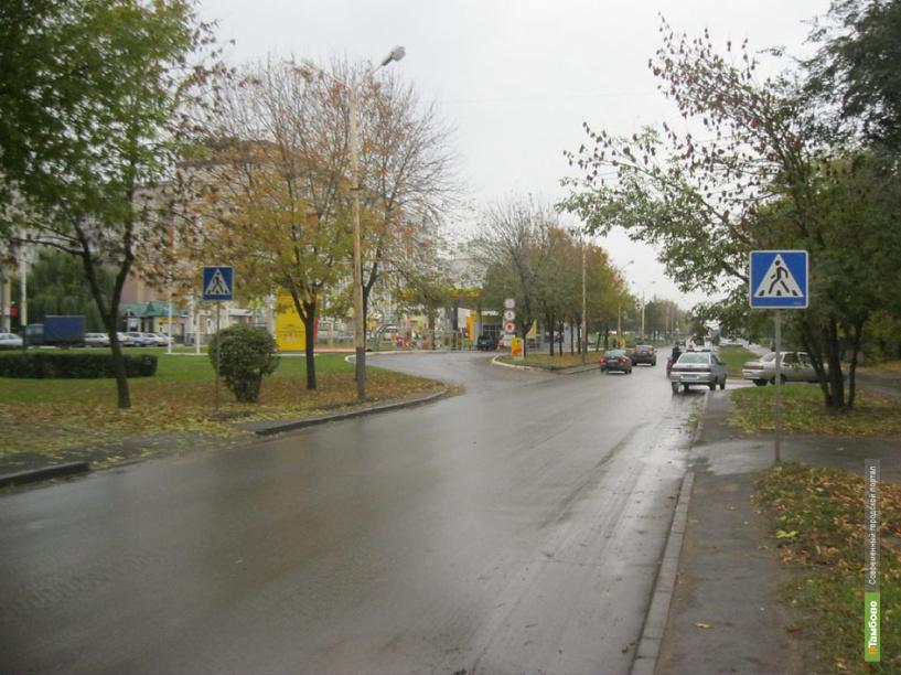 В Тамбове Лада Приора сбила пожилого пешехода