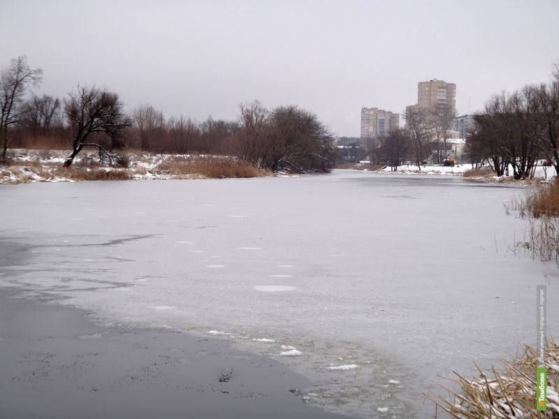 Спасатели не советуют тамбовчанам выходить на лёд