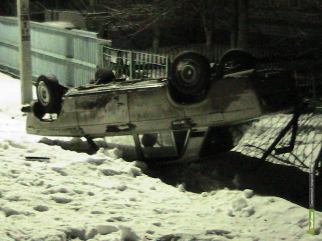 19-летний тамбовчанин сбил пешехода и разбил машину друга