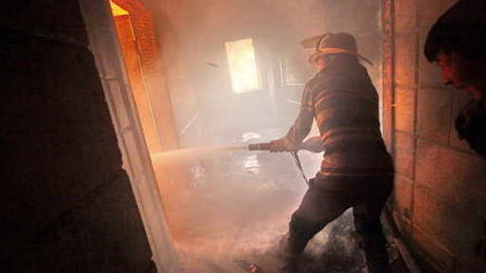 На Тамбовщине при пожаре погиб пенсионер