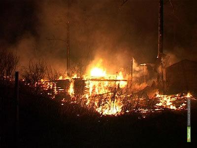 В Тамбовской области в огне погиб человек