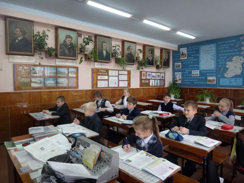 В школы Тамбова ходят почти 25 тысяч ребят