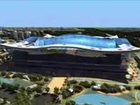В Китае началось строительство самого большого здания в мире