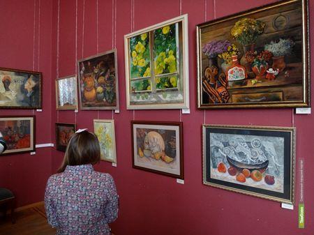 Тамбовская художница открыла персональную выставку