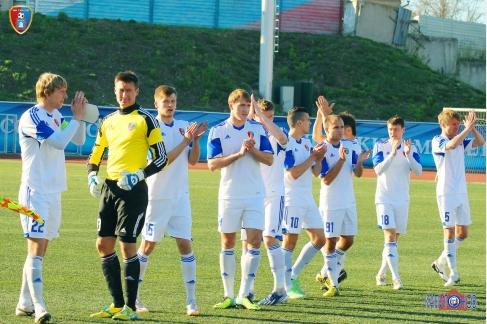 Домашний матч для ФК «Тамбов» завершился поражением