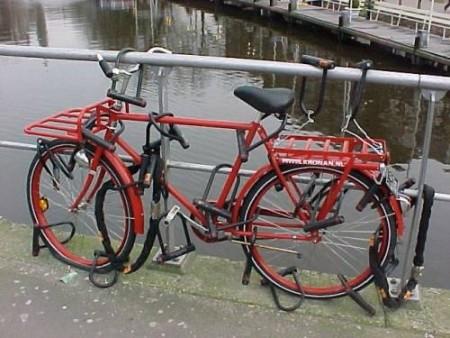 Тамбовские полицейские нашли два украденных велосипеда