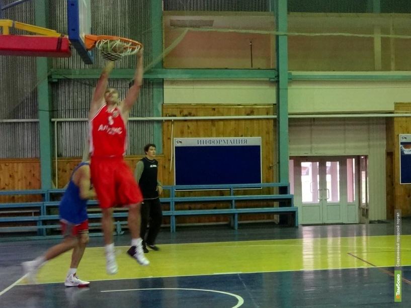 Тамбов примет полуфинал чемпионата России по баскетболу