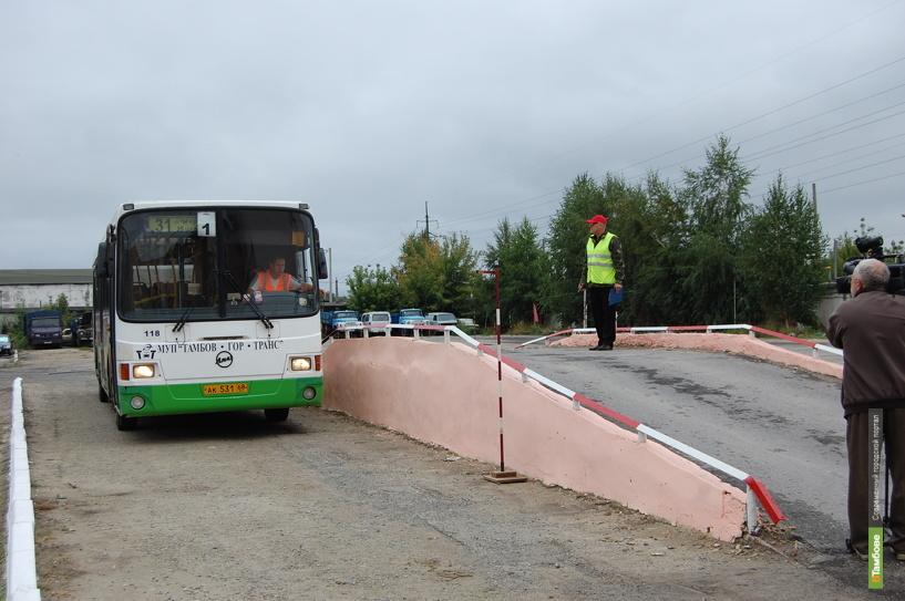 В Тамбове определили лучшего водителя автобуса