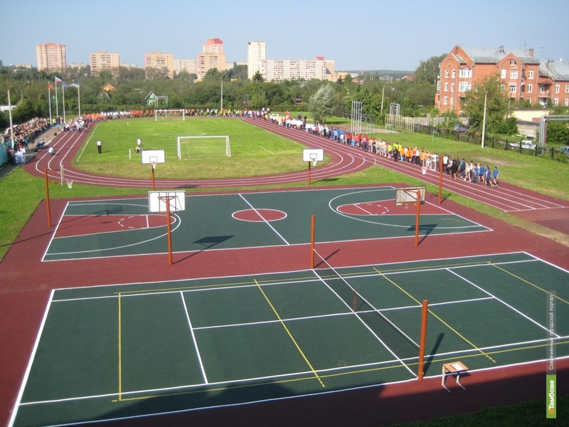 ВТамбове открывают малый концертно-спортивный комплекс