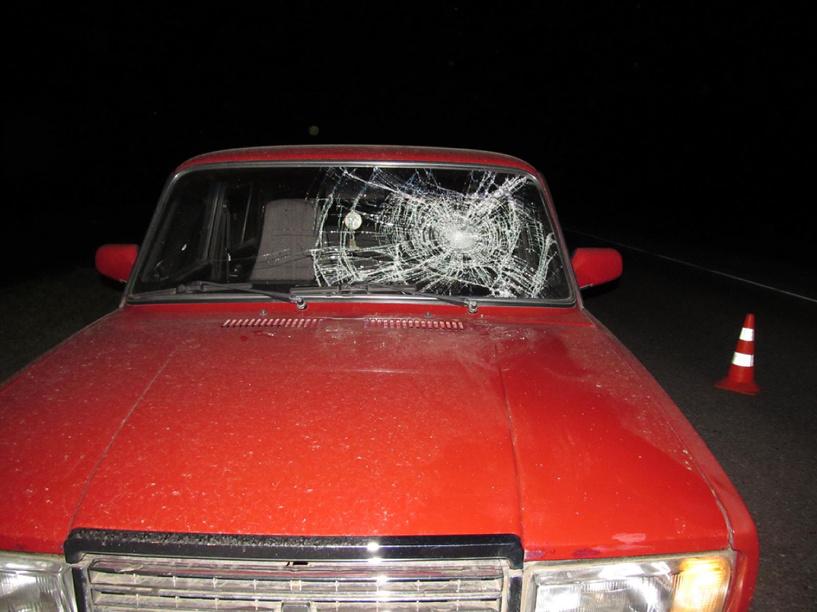 В Кирсановском районе авто сбило шедшего по дороге пешехода