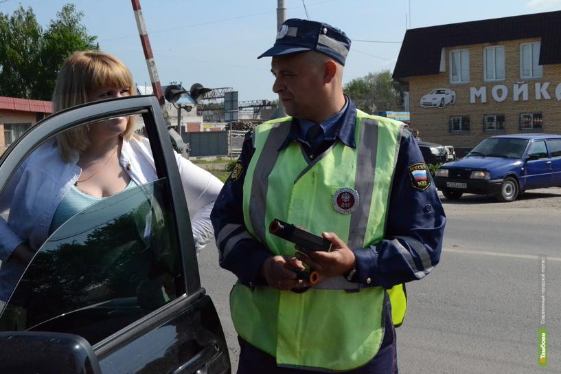 В Тамбове за тонировку арестовали 7 автомобилистов