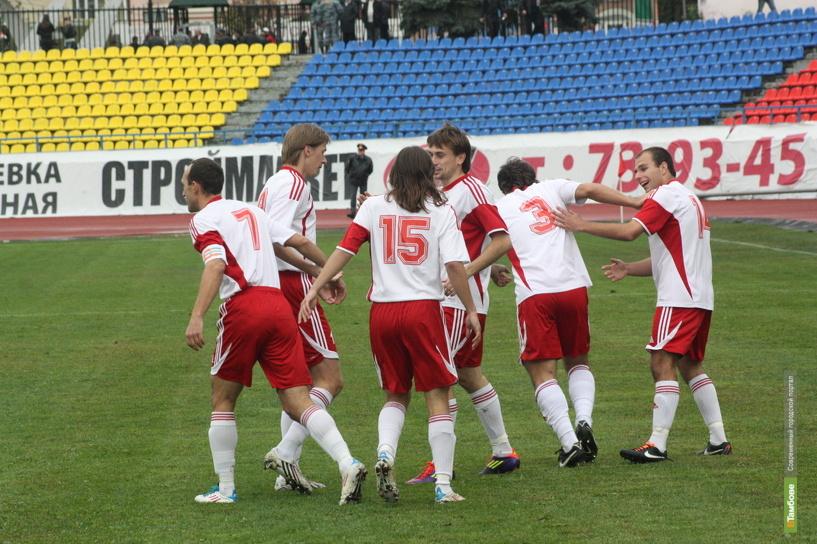 Тамбовские футболисты вышли с каникул