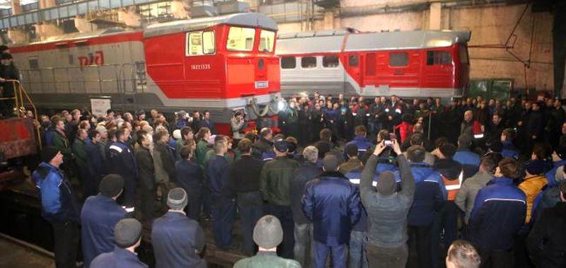 Первый модернизированный тепловоз сдали в эксплуатацию в Мичуринске