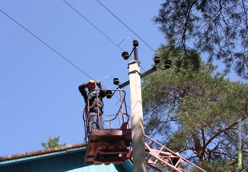 В Тамбове повесили надежные и «безопасные» провода
