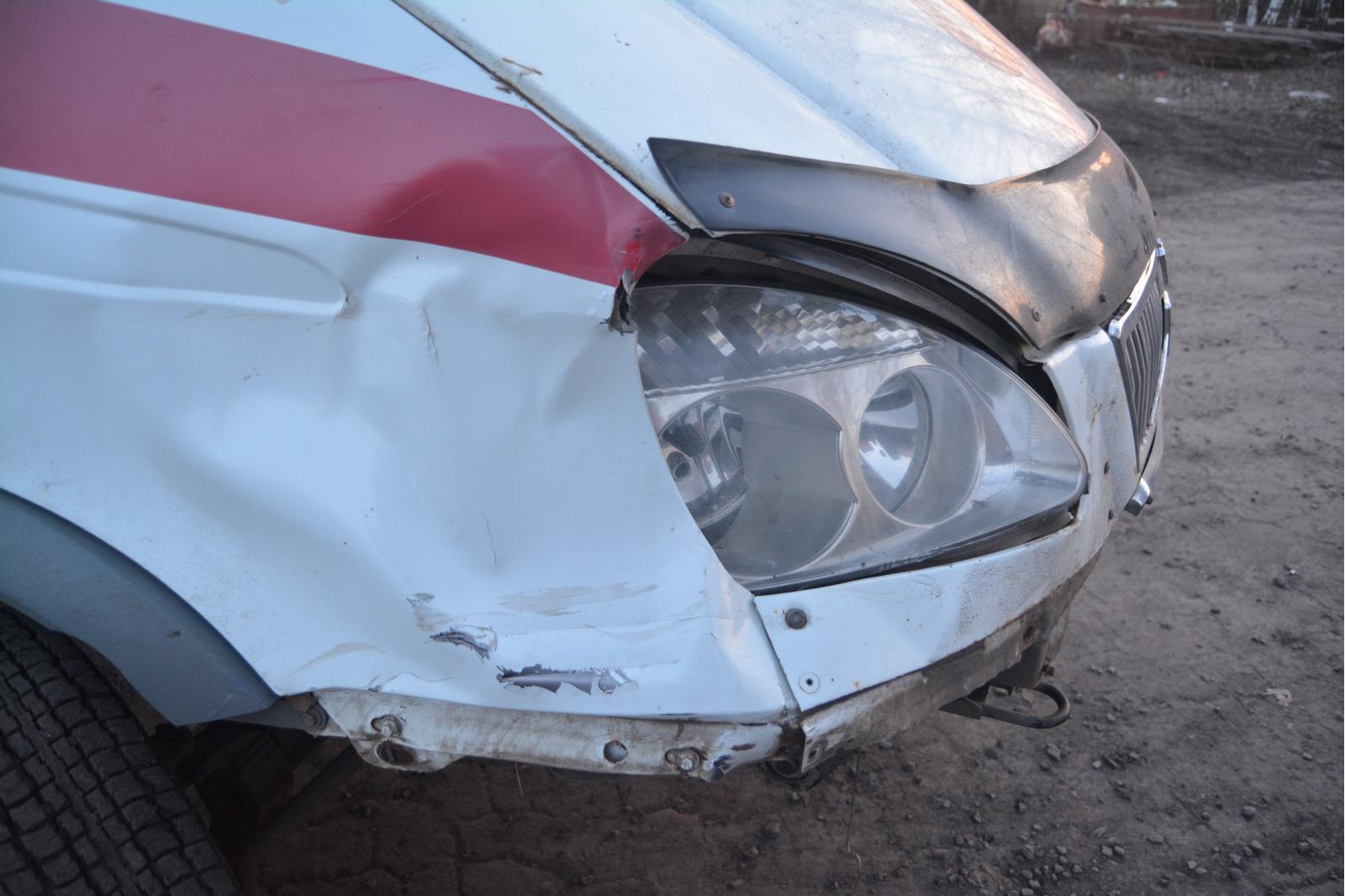 ДТП с нетрезвым водителем скорой помощи вТокаревке: пострадал велосипедист