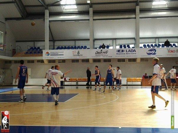 Тамбовские баскетболисты проиграли в упорной борьбе