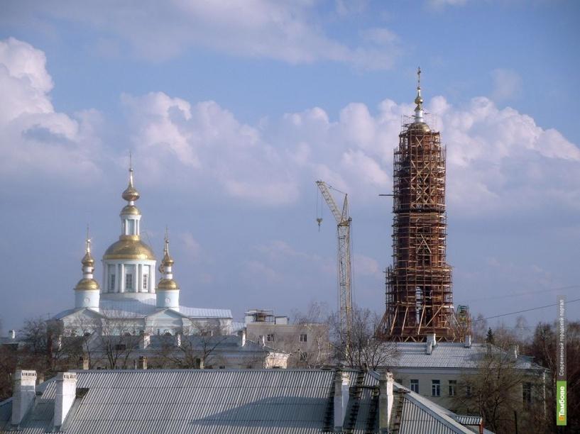 На еще одной тамбовской колокольне заблестел купол с крестом