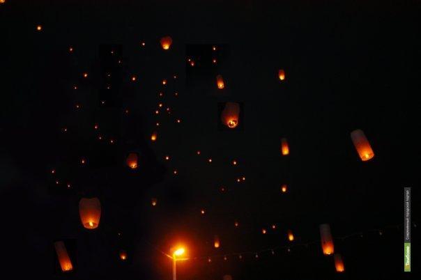 Небо над Тамбовом окрасится огнями