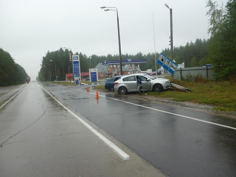 В Тамбовском районе в ДТП серьезно пострадали четыре человека