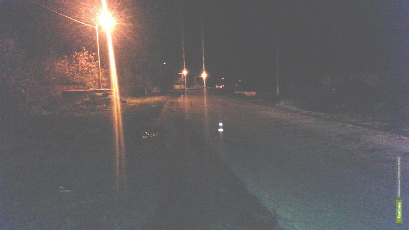 В Рассказовском районе водитель сбил пешехода и скрылся с места происшествия