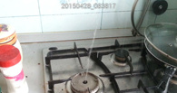 ЧП на Сенько: почему вместо газа из конфорки идёт вода?
