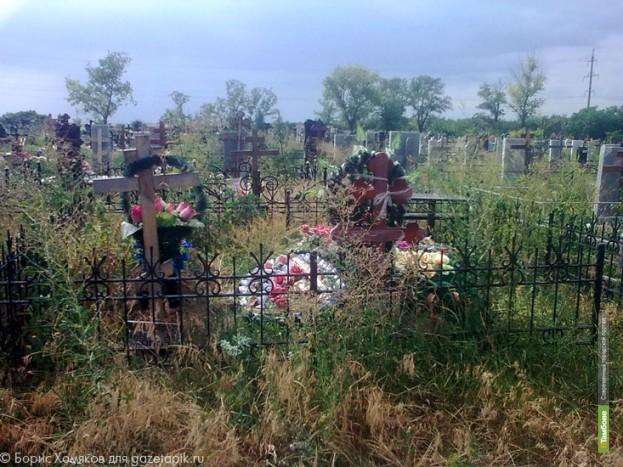 Кладбище под Никифоровкой заросло травой и мусором