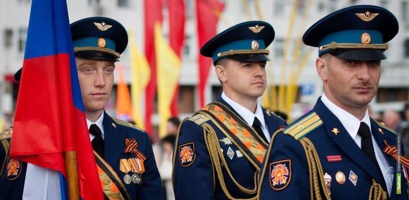 День памяти героев: в Тамбове прошёл парад Победы