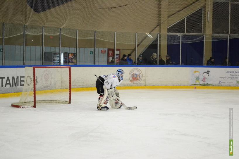 Тамбовские хоккеисты разгромили рязанцев