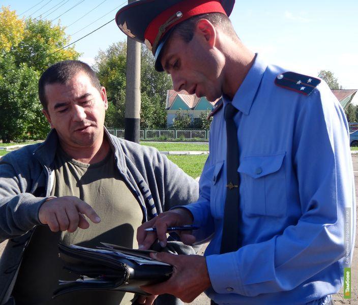 На День города полицейские поймали 12 пьяных тамбовчан