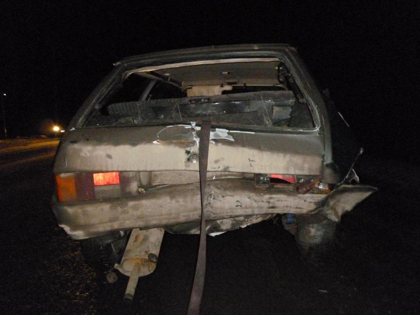 На трассе Тамбов-Котовск столкнулись две легковушки