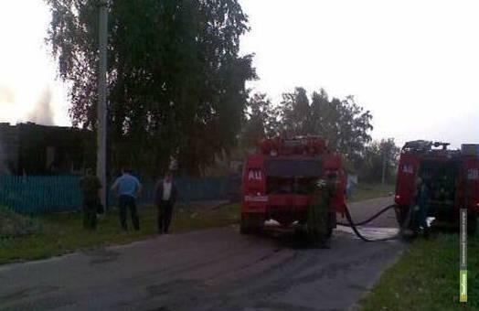 Под Моршанском в огне погибли два человека