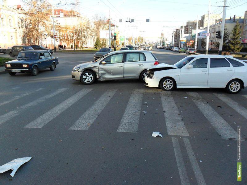 С места ДТП в Тамбовской области скрываются 12 процентов водителей