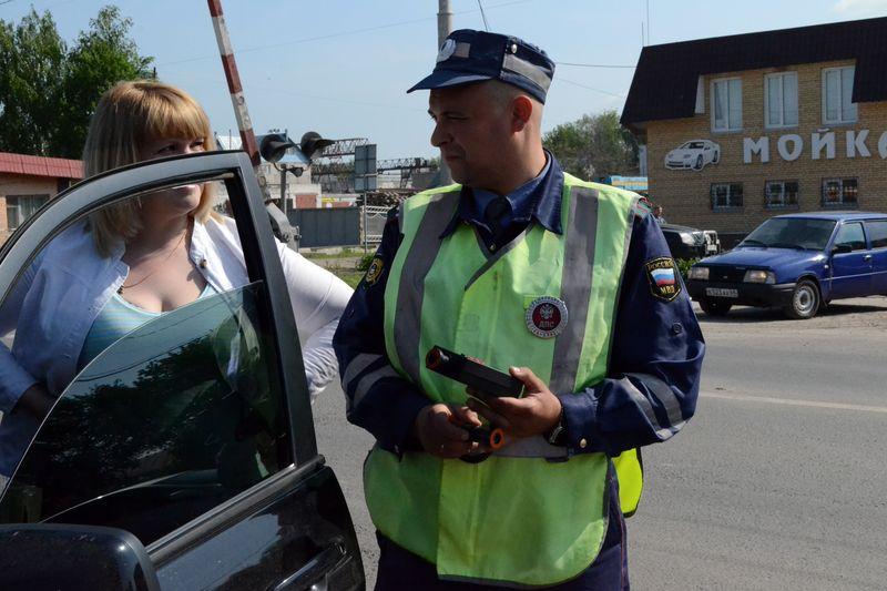 За 8 часов в Тамбове автоинспекторы поймали 34 нерадивых водителя