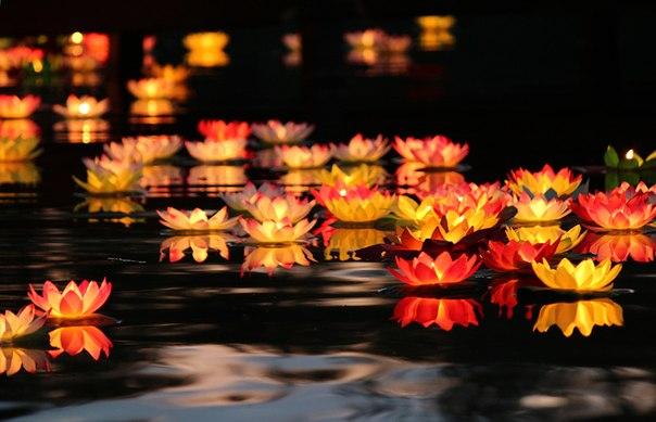 Тамбовчане пустят по воде фонарики