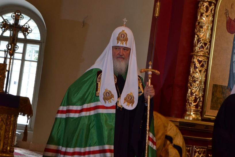 Патриарх Кирилл подарил тамбовчанам иконки Сергия Радонежского