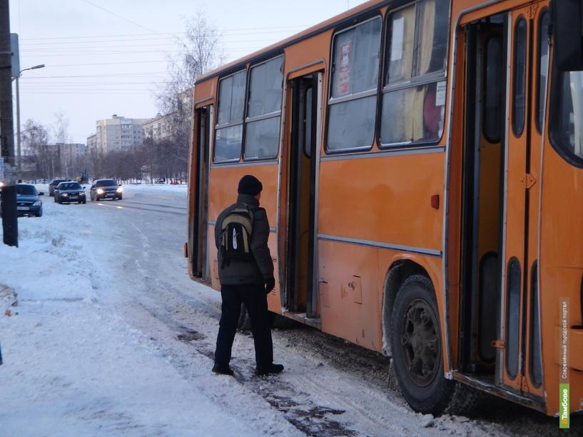 31 декабря общественный транспорт Тамбова изменит маршрут